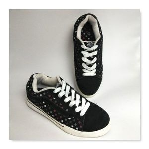 Vans Black Polka-dot No Skool Dustin Dollin Mens 6